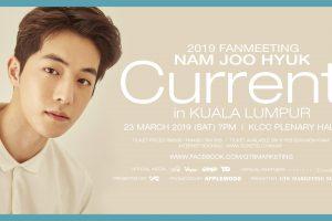 2019 Fanmeeting Nam Joo Hyuk 'Current' Di Kuala Lumpur.