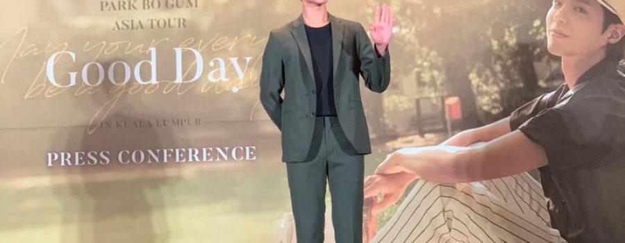 Fanmeeting Park Bo Gum Asia Tour 'Good day' Di Kuala Lumpur.