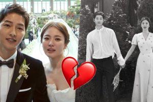 'SongSong Couple' Berakhir, Song Jong Ki Failkan Cerai Terhadap Song Hye Kyo