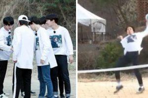 """BTS 'Epic Fail' Dalam Cabaran Bola Tampar Guna Kaki, Peminat Kata """"Tiada Bakat Langsung"""""""