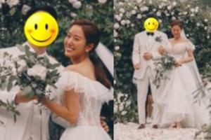 Kongsi Foto Perkahwinan, Jeon Hye Bin Tutup Wajah Suami