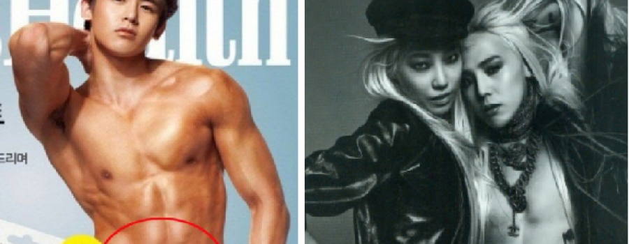 Gambar Artis K-Pop Terlebih Photoshop, Sampai Pusat Nichkhun Pun Hilang