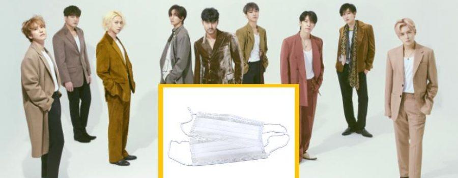 Disebabkan Coronavirus, Super Junior Sumbang 10,000 Topeng Muka