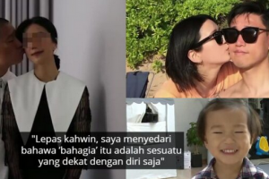 [Gambar] Sekian Lama Berahsia, Kang Gary Julung Kali Dedah Wajah Isteri Tercinta
