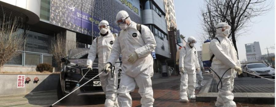 Korea Selatan Menjadi Negara Yang Paling Dijangkiti Untuk Coronavirus Selepas China.