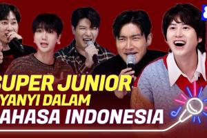 Super junior Menyanyi Lagu Sorry Sorry Dalam Bahasa, Netizen Terhibur