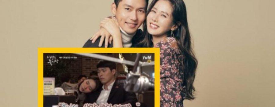 Peminat Nampak Hyun Bin Pegang Tangan Ye Jin Di Set Pengambaran